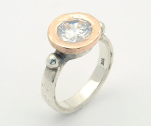 etsy, sterling silver, and wedding ring image