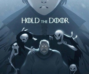 hold the door image