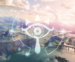 link, video games, and breath of the wild image
