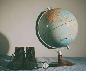 travel, world, and vintage image