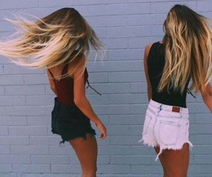girls, hair, and summer image