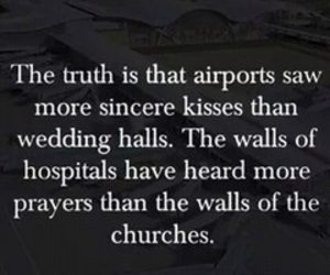 kiss, quote, and truth image