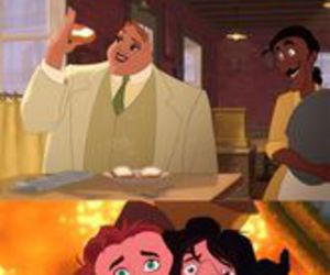 disney, funny, and face image
