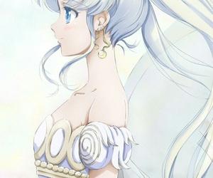 sailor moon, anime, and princess serenity image
