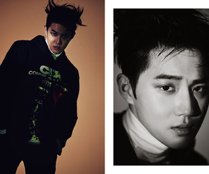 exo, monster, and suho image