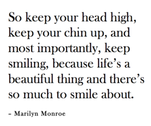 beautiful, quote, and Marilyn Monroe image