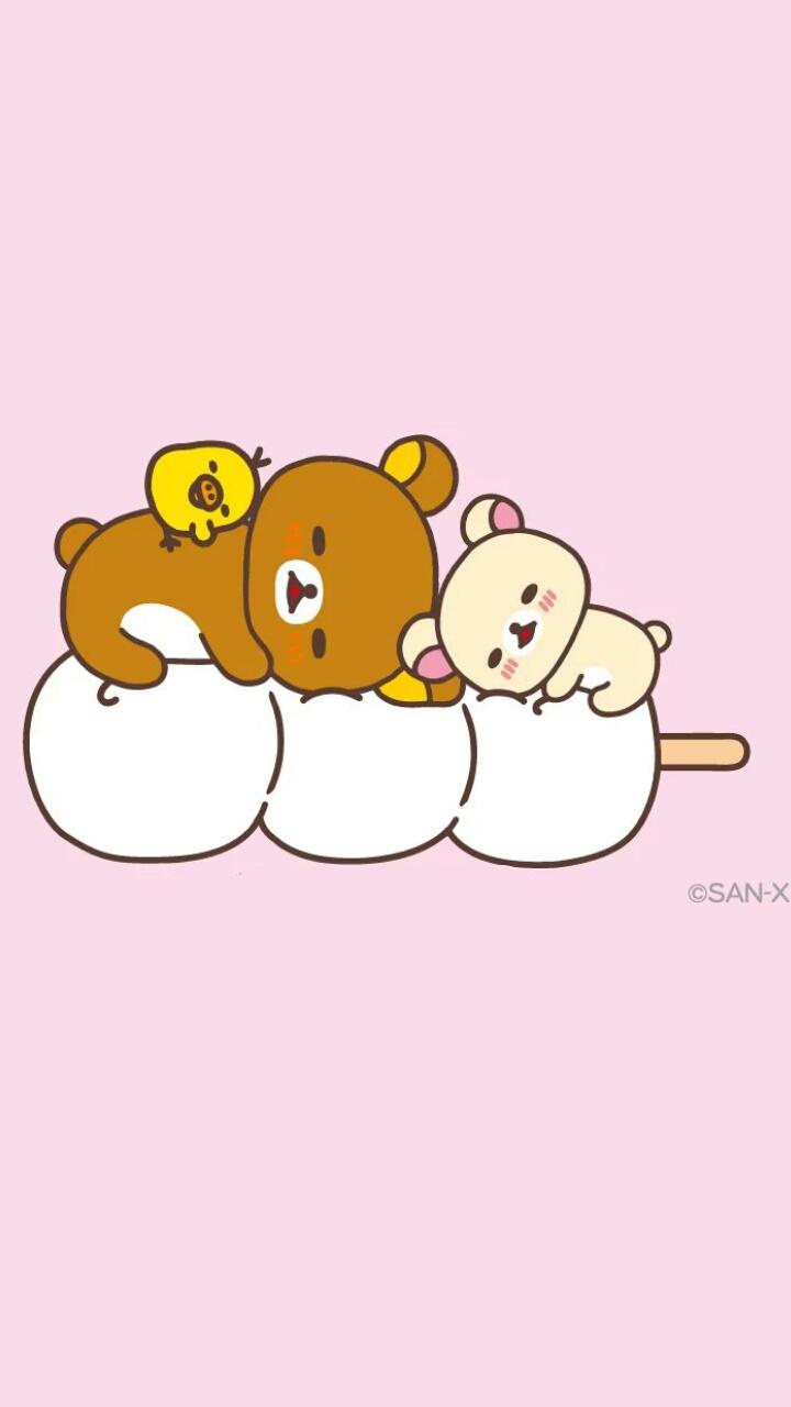 Art Bear Cartoon Chick Cute Baby Drawing Food