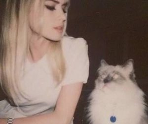 scream, carlson young, and cat image