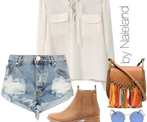 blouse, boots, and cozy image