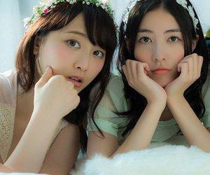 ske48, matsui jurina, and matsui rena image