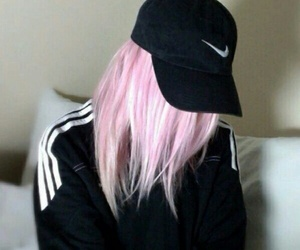 nike, tumblr, and pink image