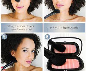 make up, makeup, and makeup tutorial image