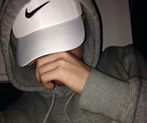 boy, nike, and white image