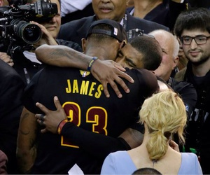 LeBron James, playoffs, and kyrie irving image