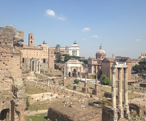 photography, rome, and the forum image