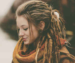 dreadlocks, dreads, and hippie image