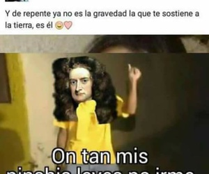 isaac newton and frases & memes image