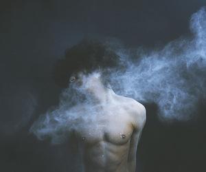 boy and dark image