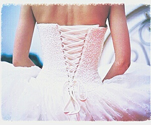 mariage, mariee, and robe image