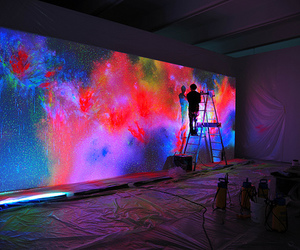 art, beautiful, and fluorescent image