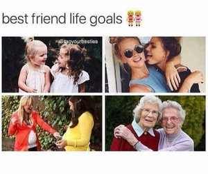 girl, goals, and bestfriends image