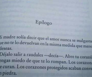 book, love, and frases image