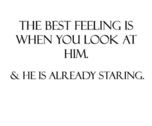 love, quote, and staring image