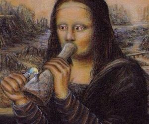 weed, bong, and art image