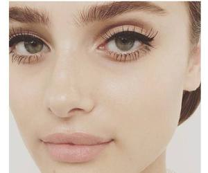 makeup, taylor hill, and Victoria's Secret image