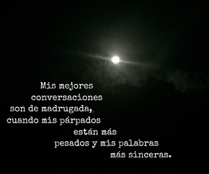 frases, inspiration, and night image
