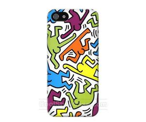 cover, keith haring, and phone case image