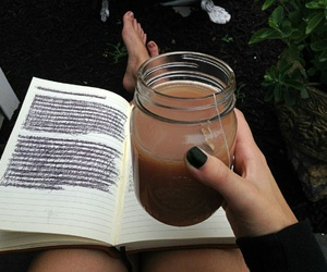 journal, nails, and plants image