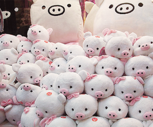 cute, pig, and kawaii image