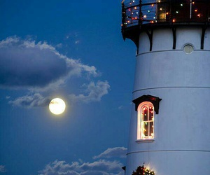 clouds, 😍, and lighthouse image