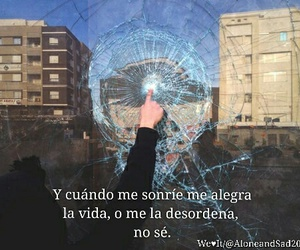 amor, frases, and sonrie image
