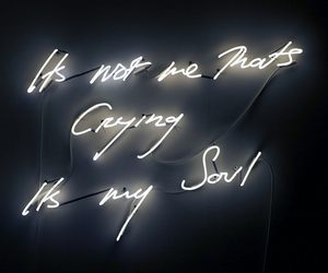soul, light, and neon image