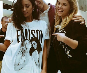 pll, emison, and pretty little liars image