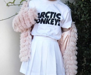 fashion, arctic monkeys, and white image