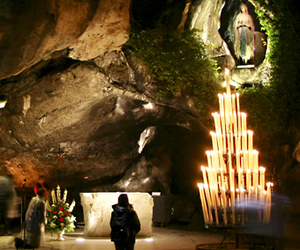apparition, france, and lourdes image