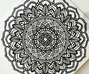 mandala and drawing image
