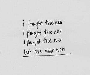 war, aesthetic, and quotes image