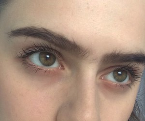 eyes, grunge, and eyebrows image