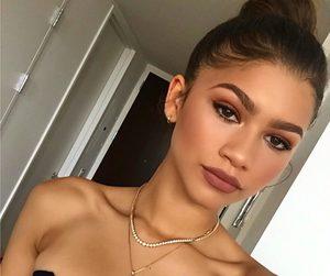 zendaya, makeup, and beauty image