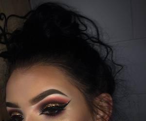 cosmetics, eyeshadow, and make up image