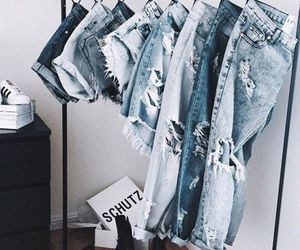 jeans, fashion, and blue image