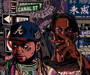grafitti and asap rocky image