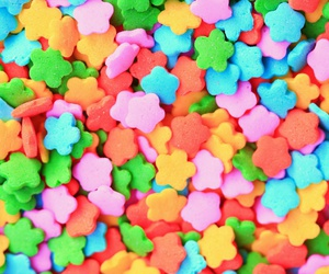 candy, sweet, and stars image