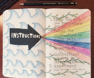 instructions, keri smith, and water image