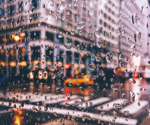 rain, city, and urban image