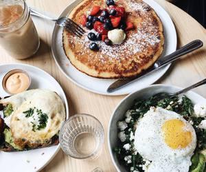 breakfast, brunch, and pancake image